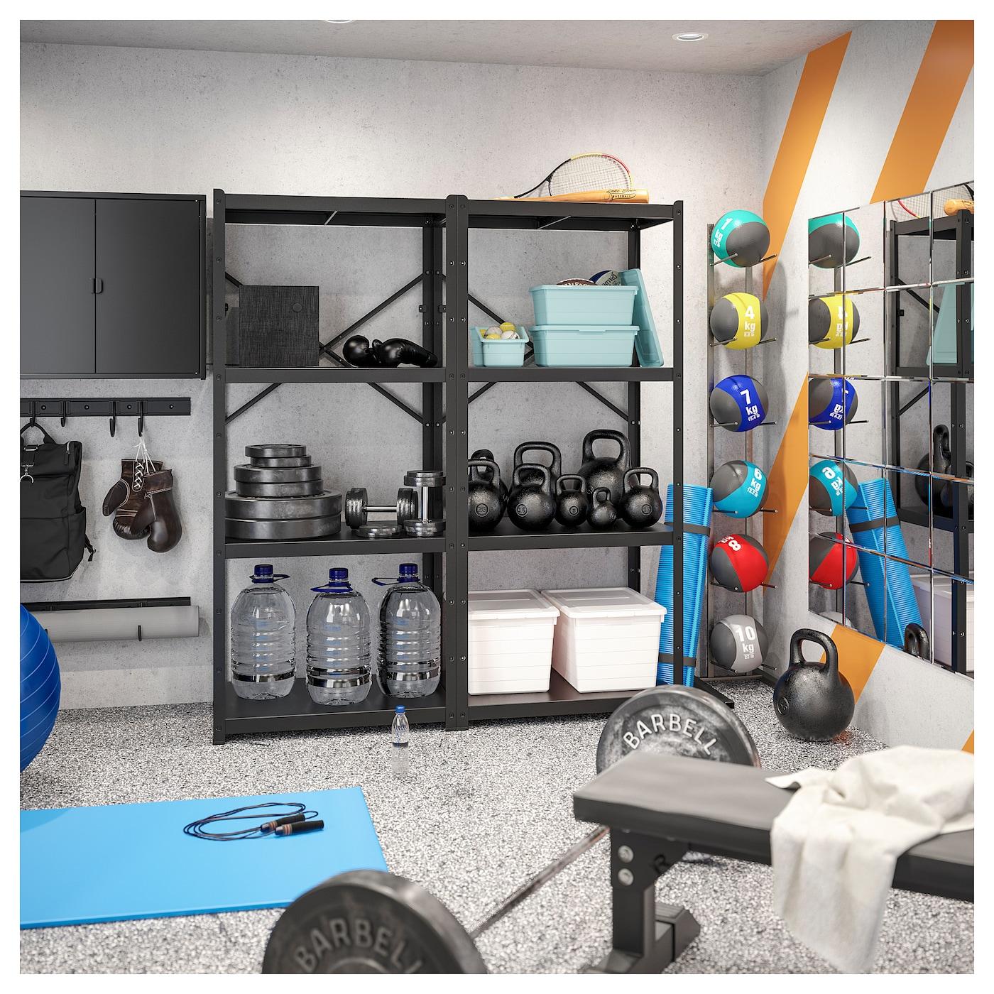Bror Storage W Shelves Cabinet Trolley Ikea