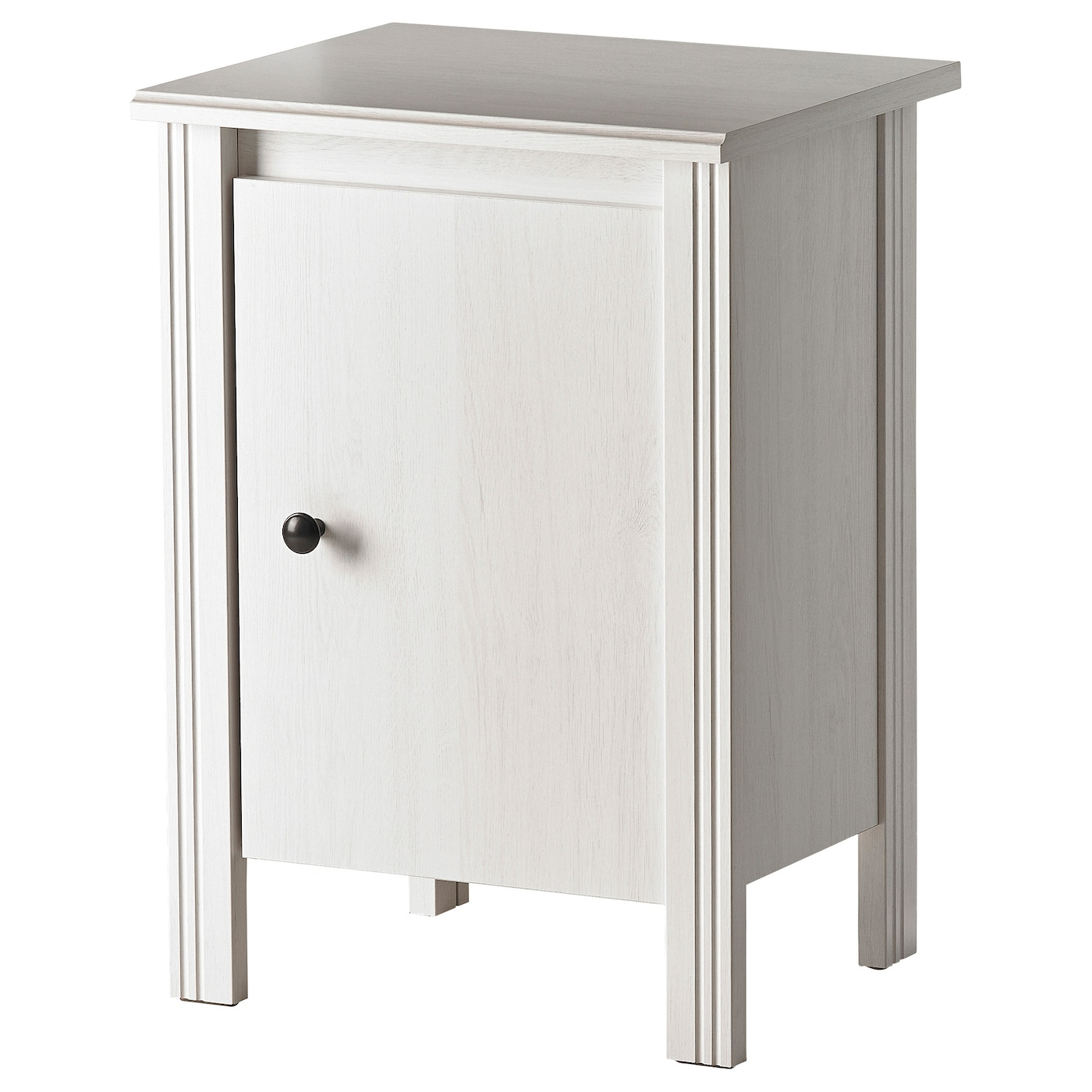 Brusali bedside table white 44x36 cm ikea for Table 70 cm hauteur