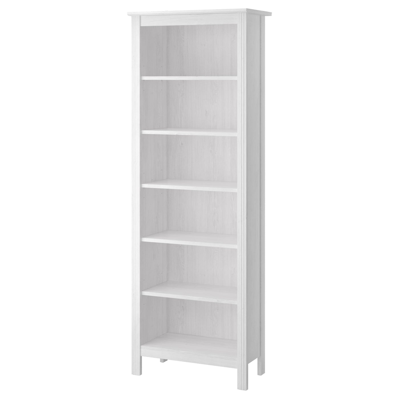 IKEA BRUSALI bookcase Adjustable shelves, so you can customise your storage as needed.