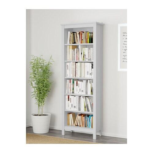 brusali bookcase white 67x190 cm ikea. Black Bedroom Furniture Sets. Home Design Ideas