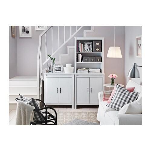 brusali cabinet with doors white 80x93 cm ikea. Black Bedroom Furniture Sets. Home Design Ideas