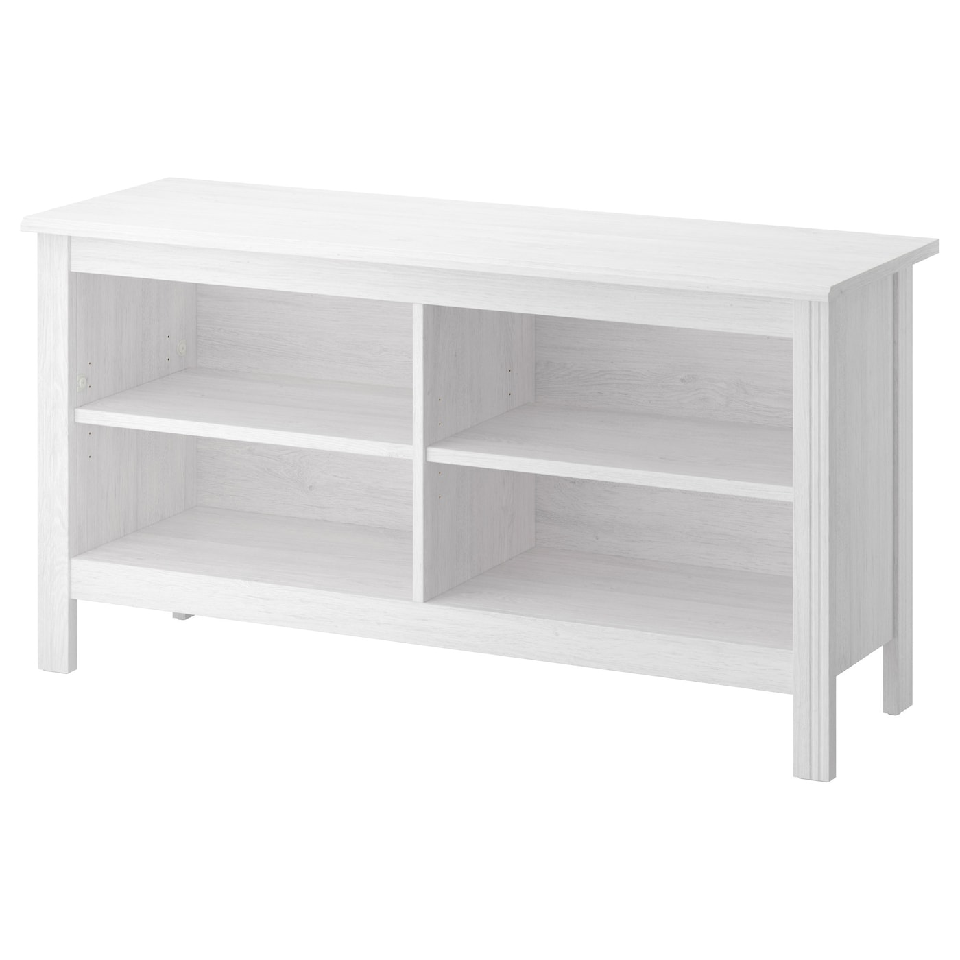 brusali tv bench white 120x62 cm ikea. Black Bedroom Furniture Sets. Home Design Ideas