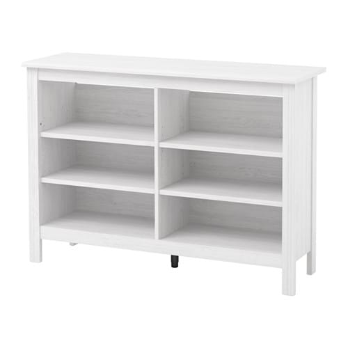 Brusali Tv Bench White 120 X 36 X 85 Cm Ikea