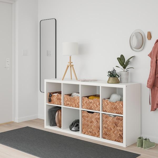 BULLIG Box, bamboo/brown, 32x35x16 cm