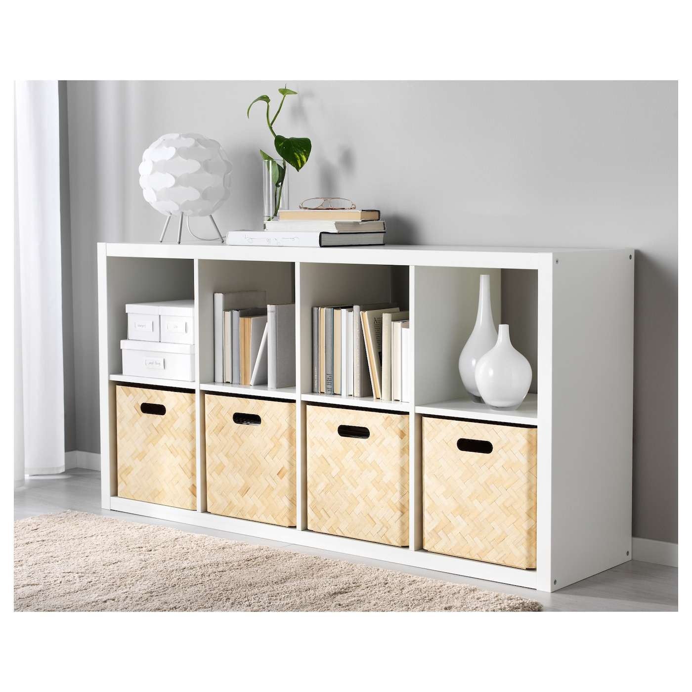 bullig box bamboo 32x35x33 cm ikea. Black Bedroom Furniture Sets. Home Design Ideas