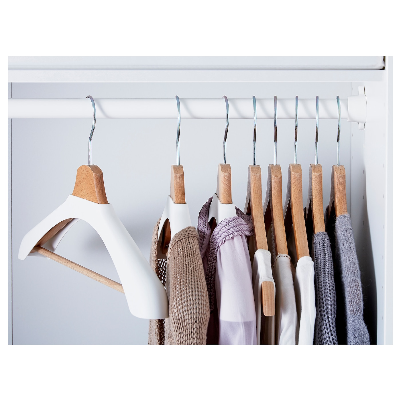 IKEA BUMERANG shoulder shaper for hanger