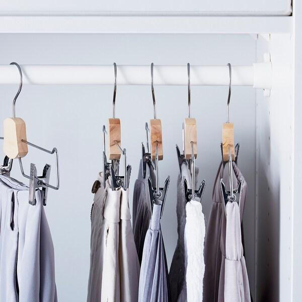 BUMERANG Trouser/skirt hanger, chrome-plated