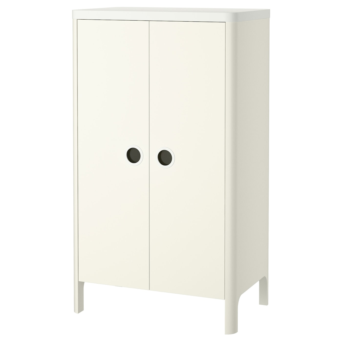 busunge wardrobe white 80x139 cm ikea. Black Bedroom Furniture Sets. Home Design Ideas