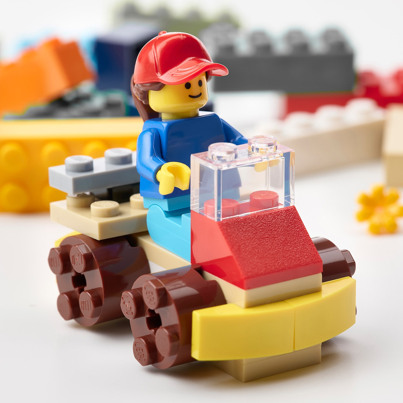 BYGGLEK 201-piece LEGO® brick set, mixed colours - IKEA