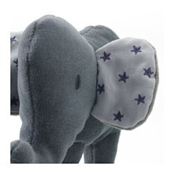 charmtroll squeaky toy elephant grey ikea. Black Bedroom Furniture Sets. Home Design Ideas