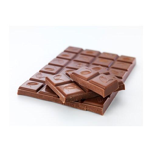 choklad ljus milk chocolate bar utz certified ikea