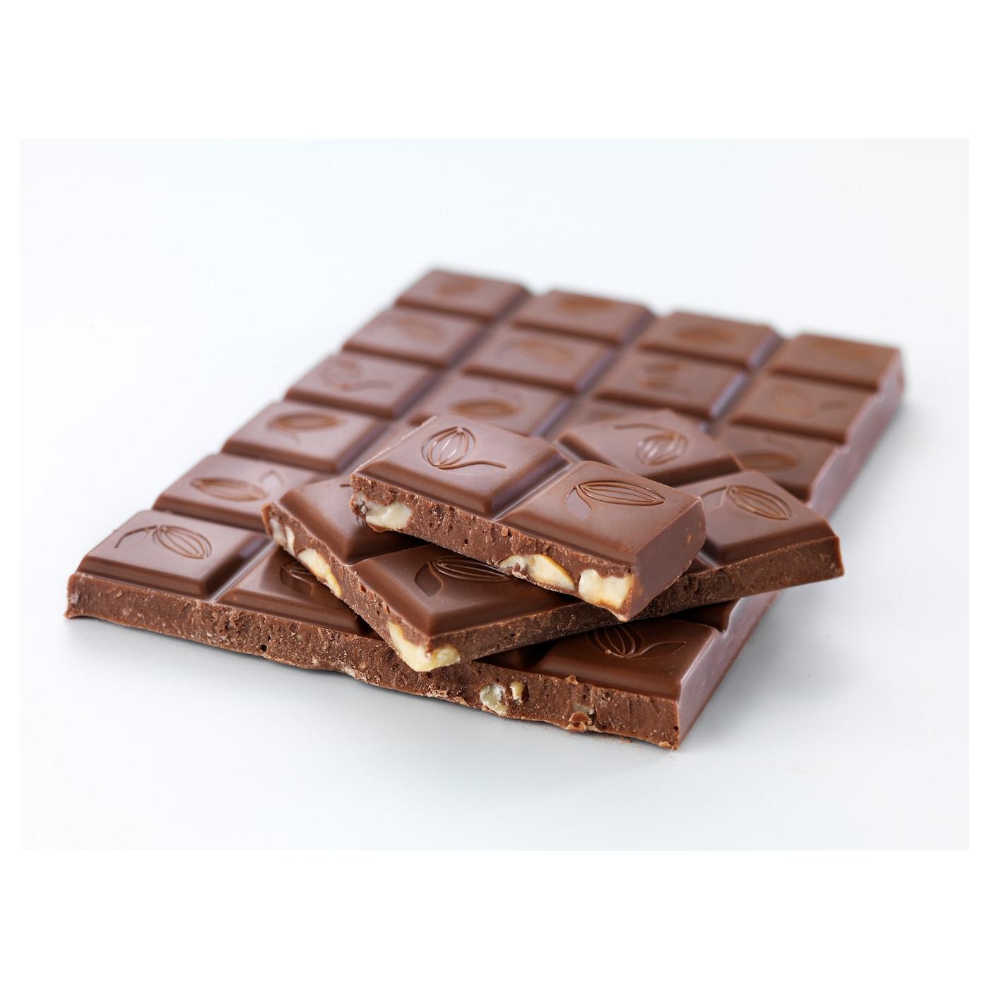 Choklad N T Milk Chocolate Bar W Hazelnuts Utz Certified