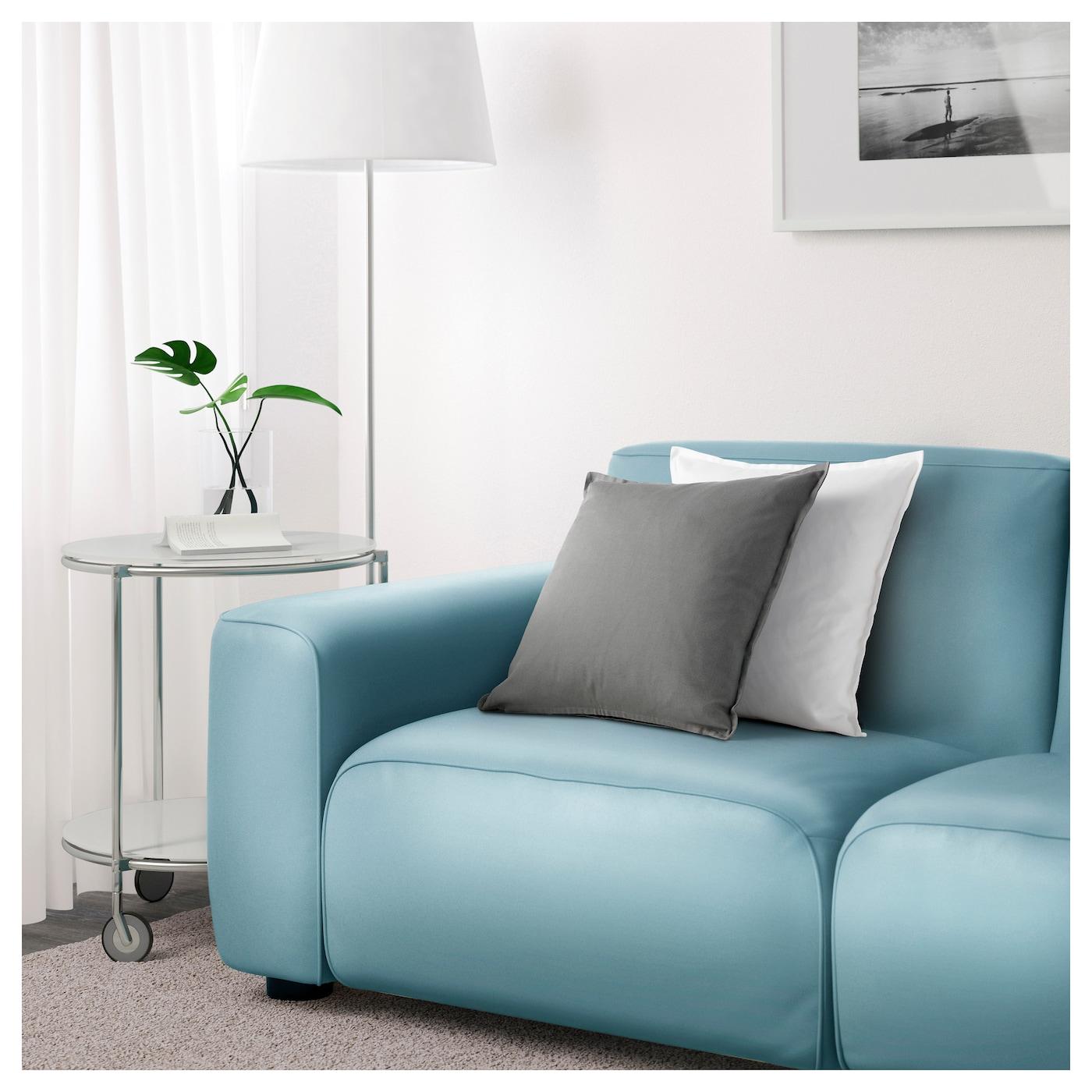 Dagarn Three Seat Sofa Kimstad Turquoise Ikea