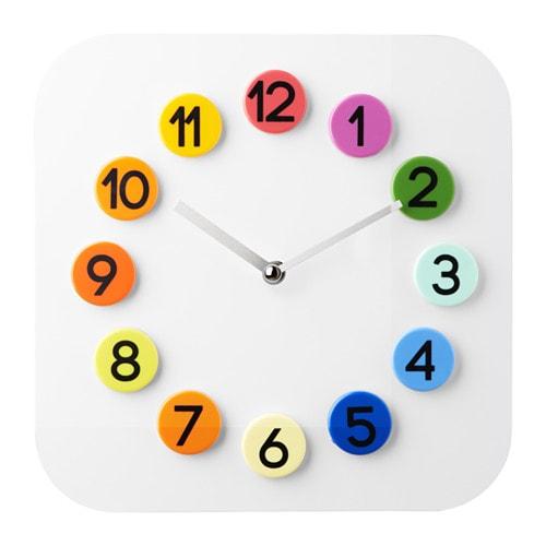 Dassigt Wall Clock White 26 Cm Ikea