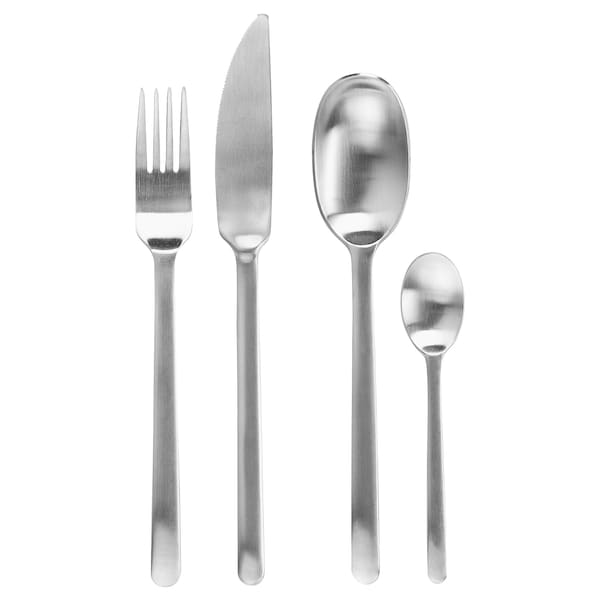 DATA 24-piece cutlery set, stainless steel