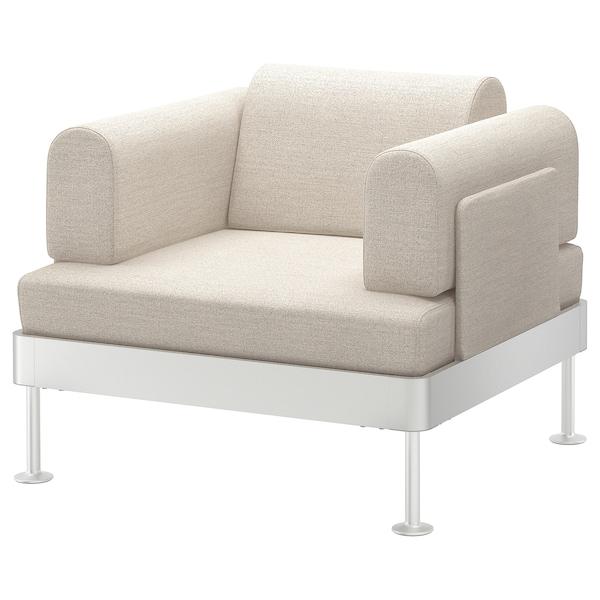 DELAKTIG Armchair, Gunnared beige