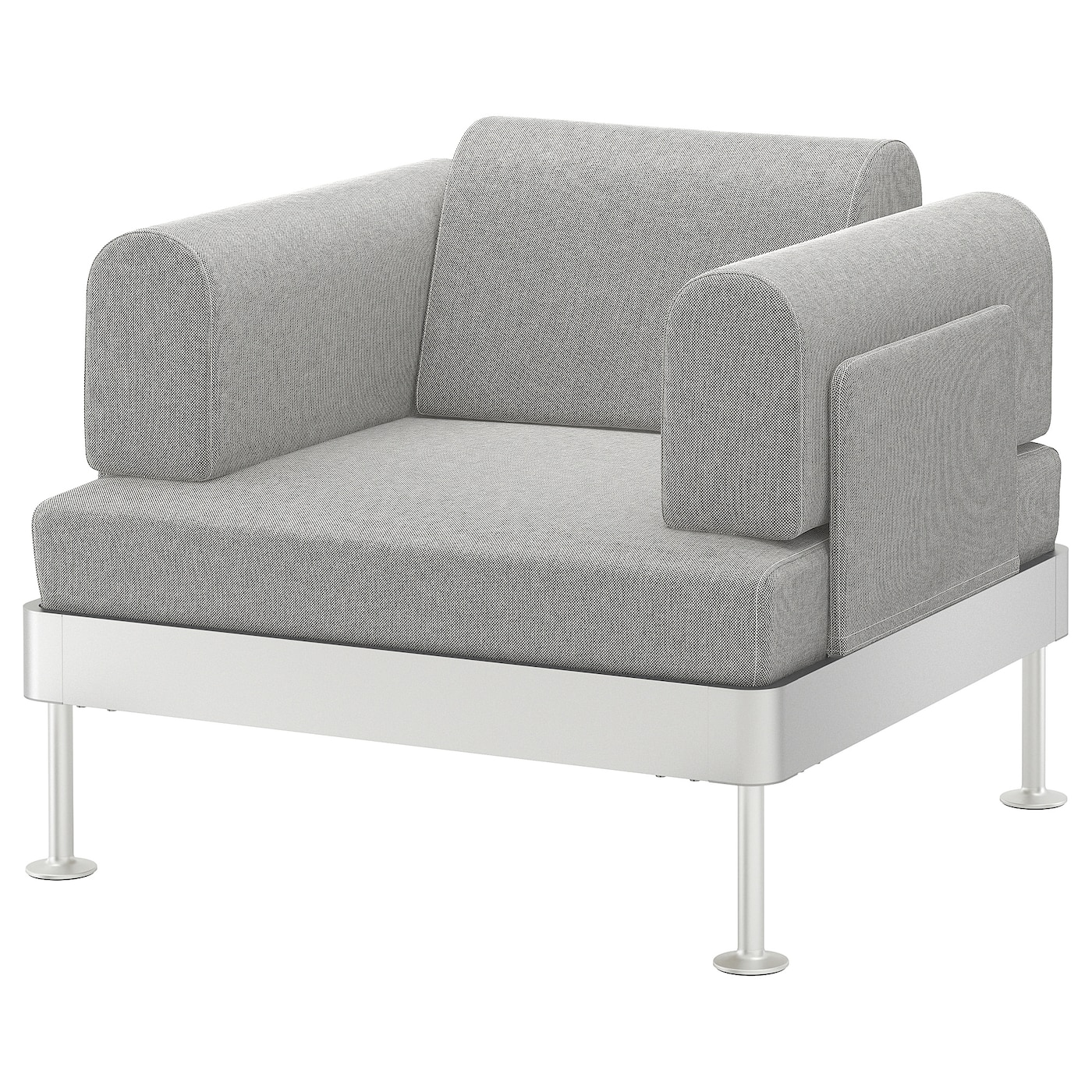 IKEA DELAKTIG armchair The cover is easy to keep clean as it is removable and can be washed.