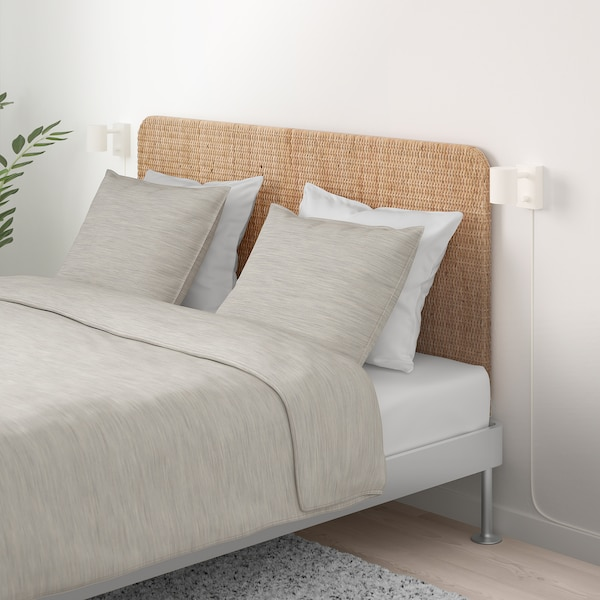 Delaktig Aluminium Rattan Bed With