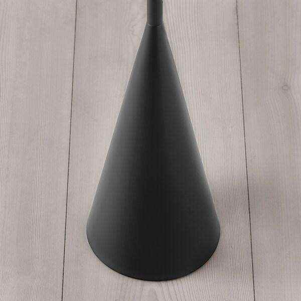 DELAKTIG LED floor lamp black 3.4 W 160 cm 14 cm 10 cm 1.9 m