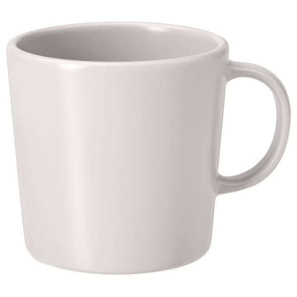 DINERA Mug, beige, 30 cl