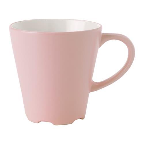 DINERA Mug Light Pink 35 Cl IKEA