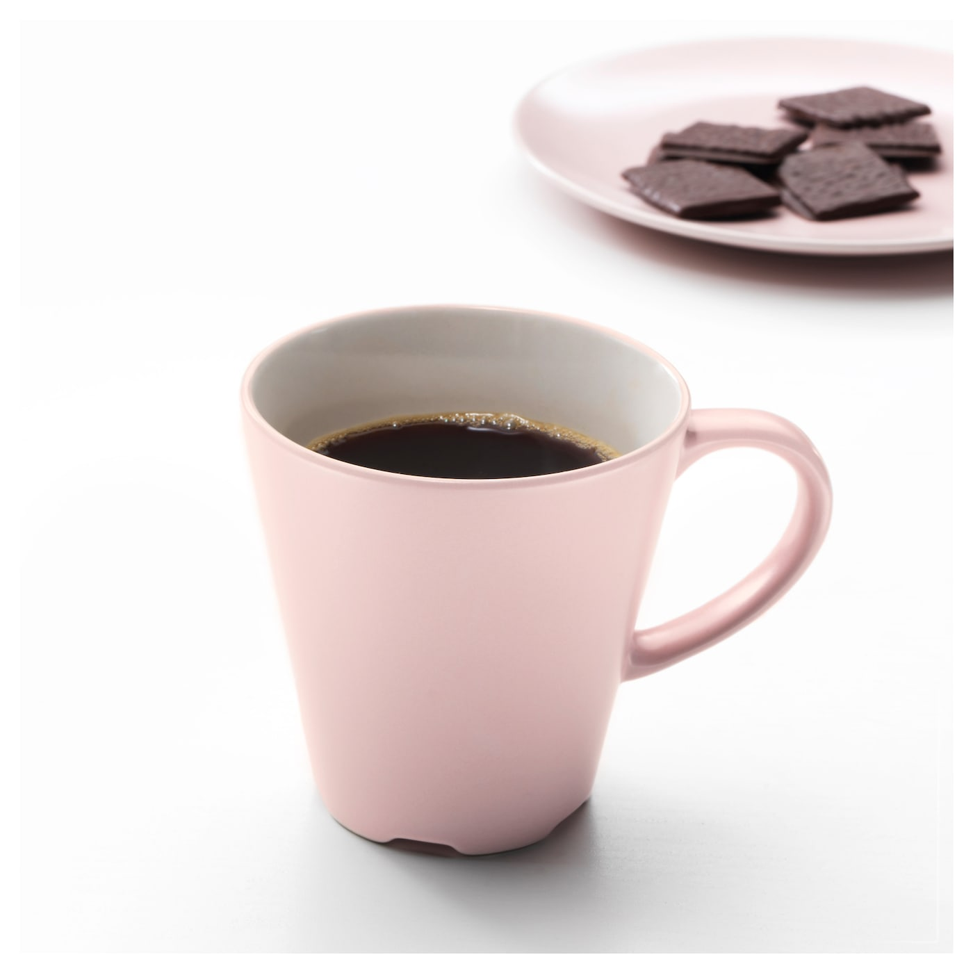 dinera mug light pink 35 cl ikea. Black Bedroom Furniture Sets. Home Design Ideas