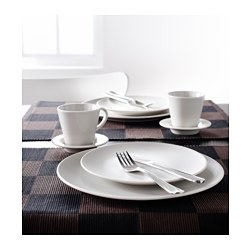 dinera side plate beige 20 cm ikea. Black Bedroom Furniture Sets. Home Design Ideas
