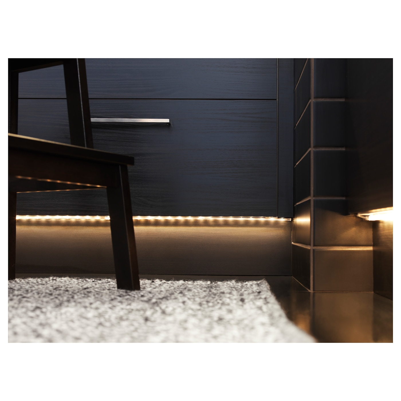 ikea dioder led lighting strip you can connect up to 4 pieces in a straight line
