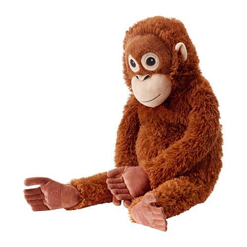 Djungelskog Soft Toy Orangutan Ikea