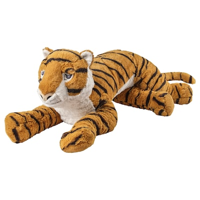 DJUNGELSKOG Soft toy, tiger