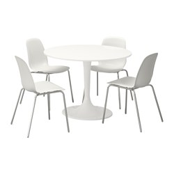 Ikea Docksta Leifarne Table And 4 Chairs
