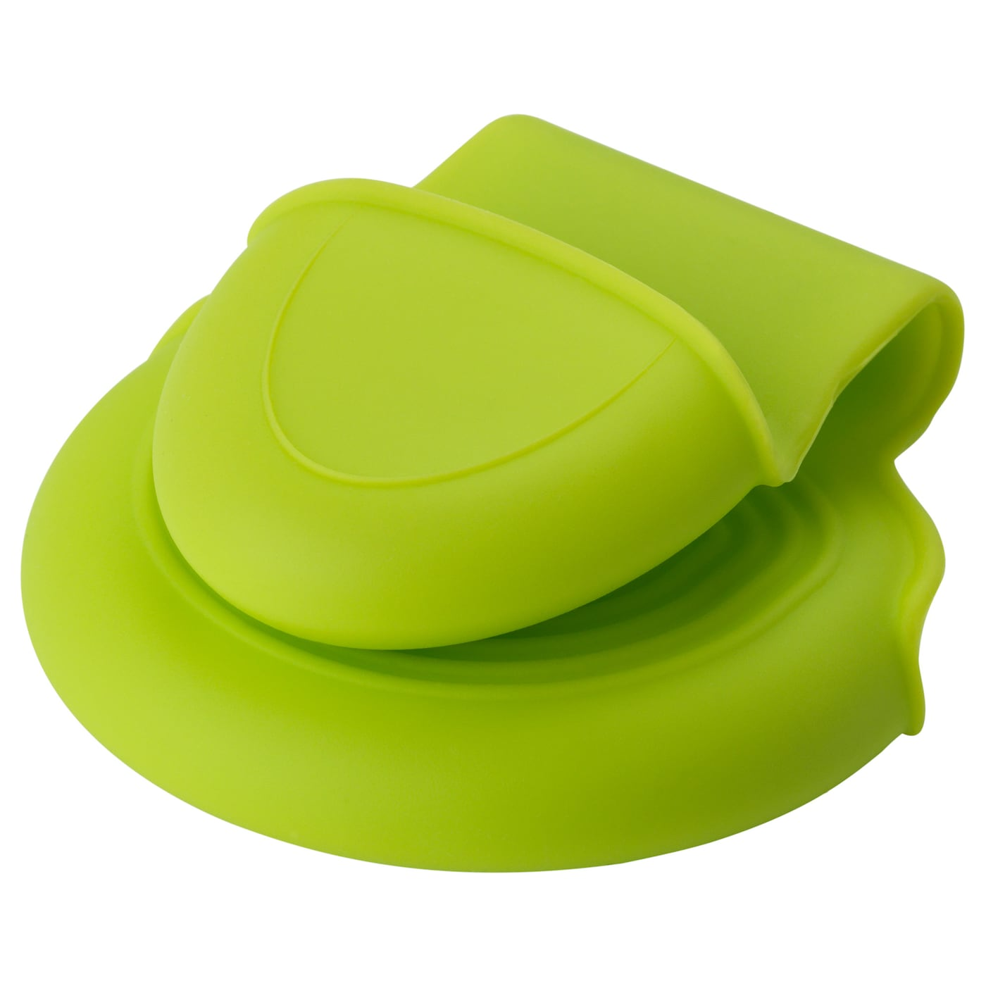 IKEA DOFTFUNKIA pinch holder Silicone provides a firm grip and is heat-insulating.