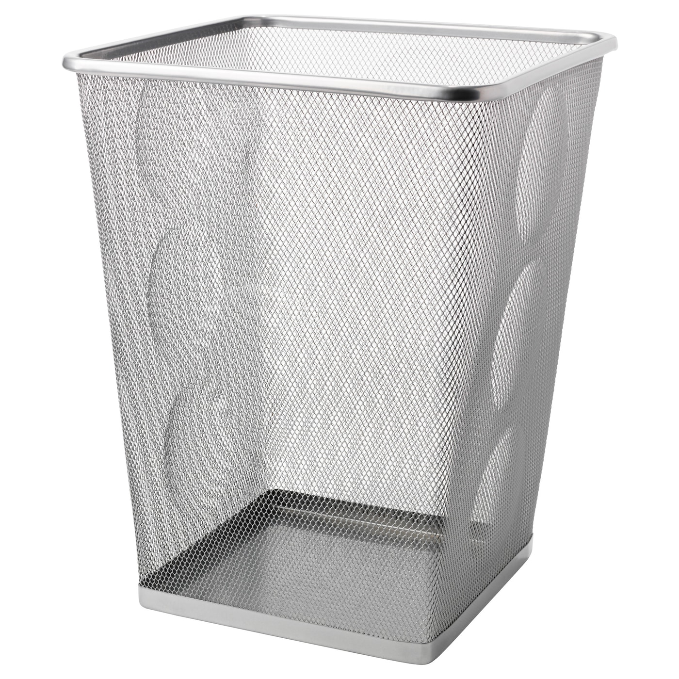 Waste Paper Basket Dokument Wastepaper Basket Silvercolour  Ikea