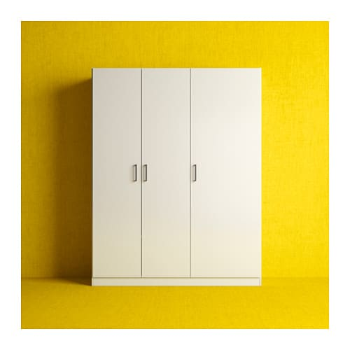 Ikea Dombas Triple Wardrobe ~ IKEA DOMBÅS wardrobe Adjustable shelves make it easy to customise the