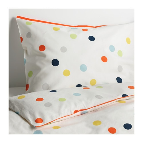 IKEA DRÖMLAND quilt cover and pillowcase