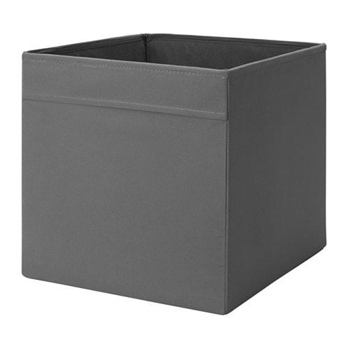 Dr na box dark grey 33x38x33 cm ikea - Boite de rangement pour bottes ...