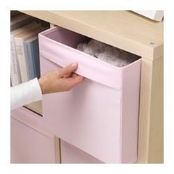dr na box light pink 33x38x33 cm   ikea