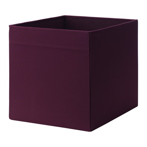 dr na box red lilac 33x38x33 cm ikea. Black Bedroom Furniture Sets. Home Design Ideas