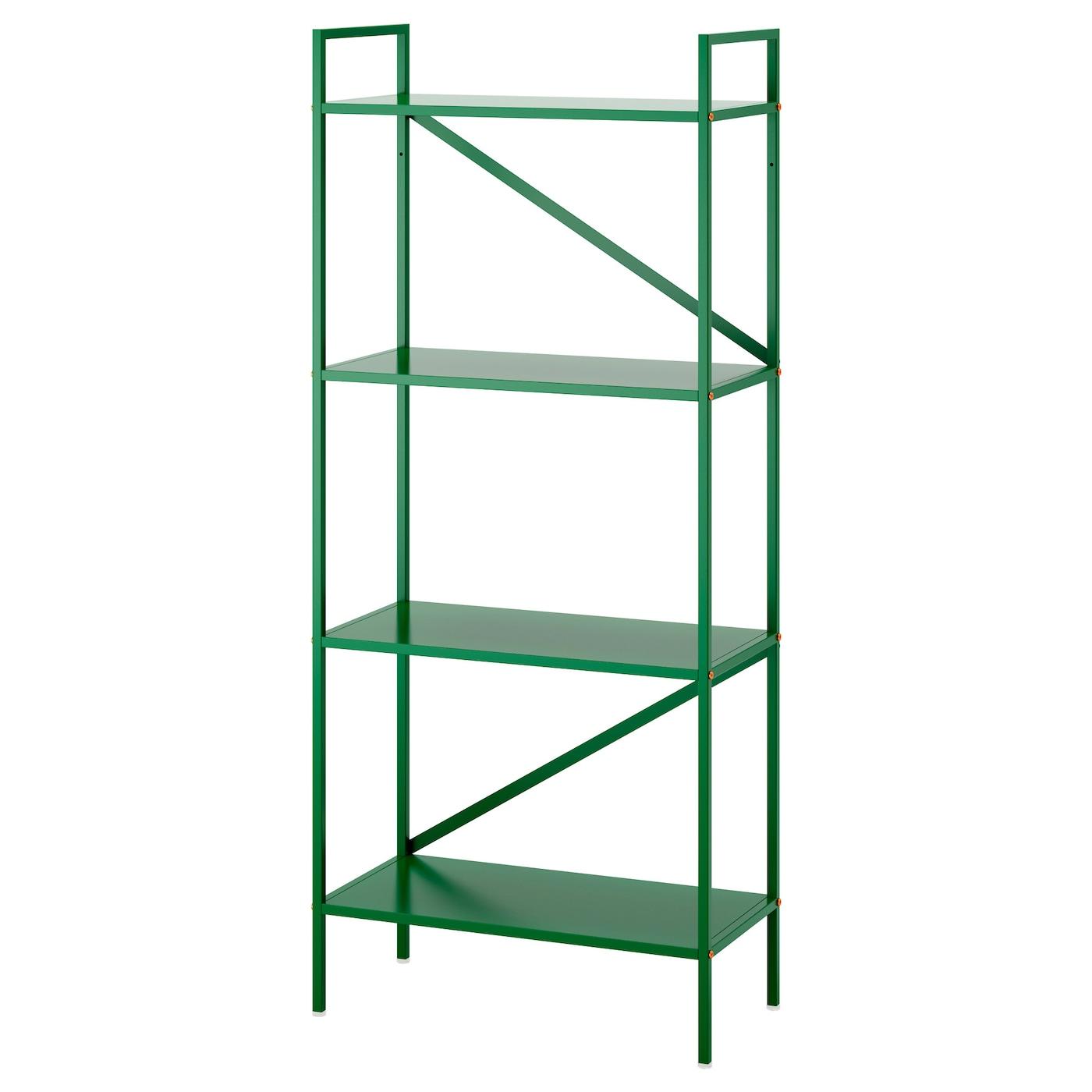 Draget shelving unit green 60x140 cm ikea for Ikea draget