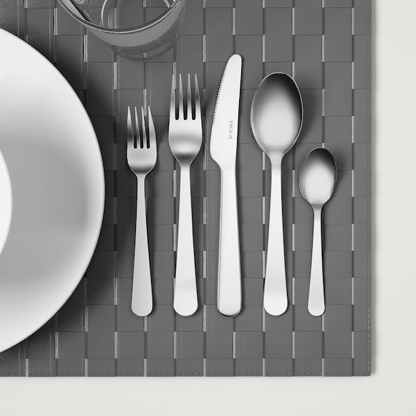 DRAGON 60-piece cutlery set, stainless steel