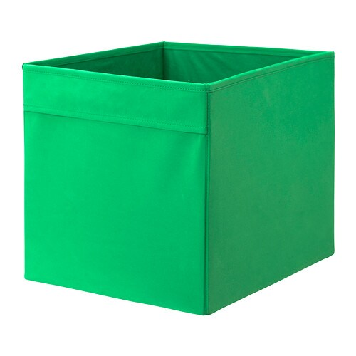 ikea drona expedit bookcase storage box new deep green ebay. Black Bedroom Furniture Sets. Home Design Ideas