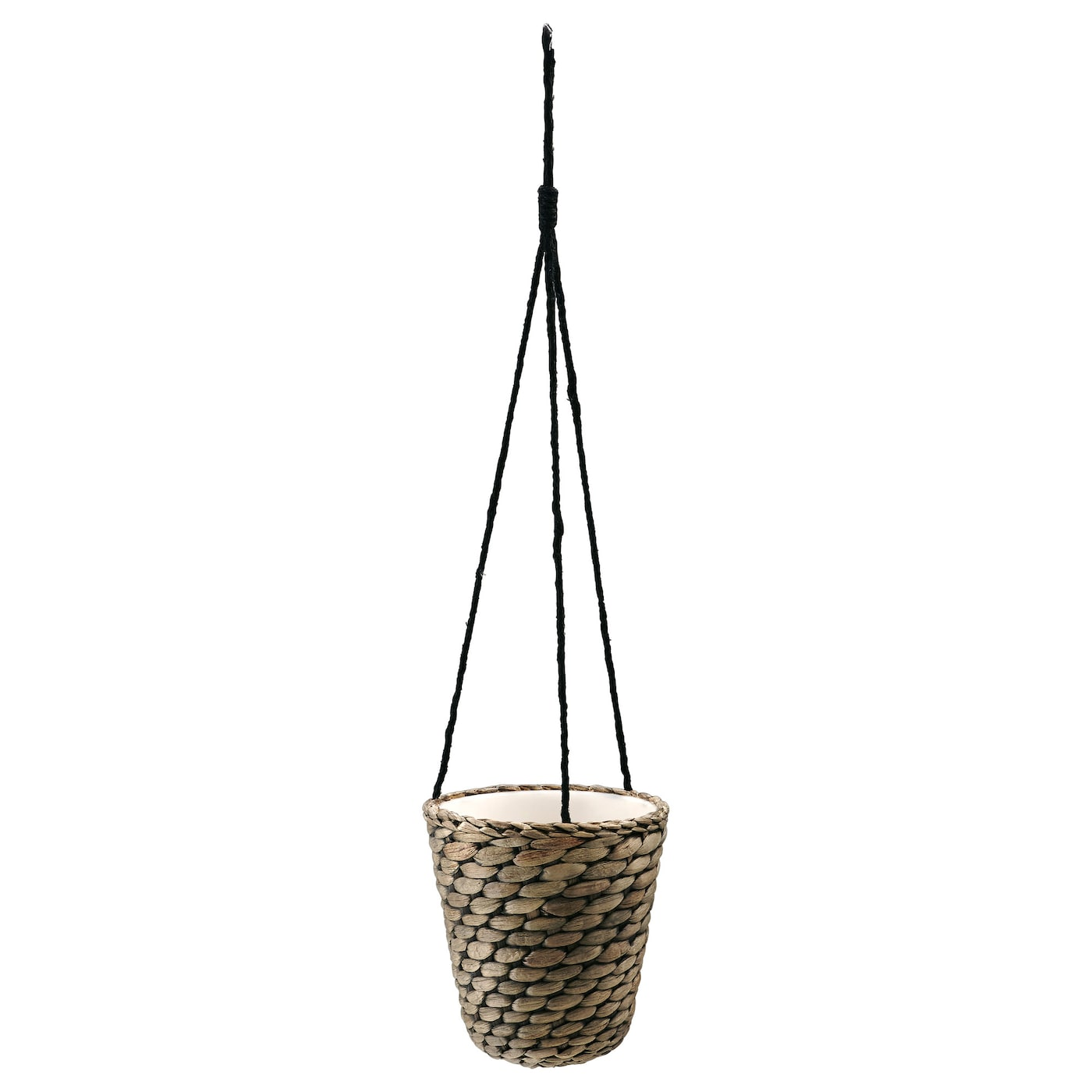druvfl der hanging planter water hyacinth grey 14 cm ikea. Black Bedroom Furniture Sets. Home Design Ideas