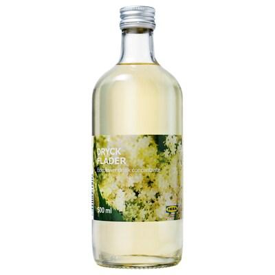 DRYCK FLÄDER Elderflower syrup