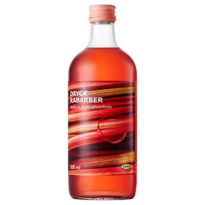 DRYCK RABARBER Rhubarb syrup