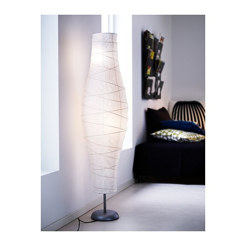 Ikea Brasa Floor Lamp White ~ IKEA DUDERÖ floor lamp Gives a soft mood light