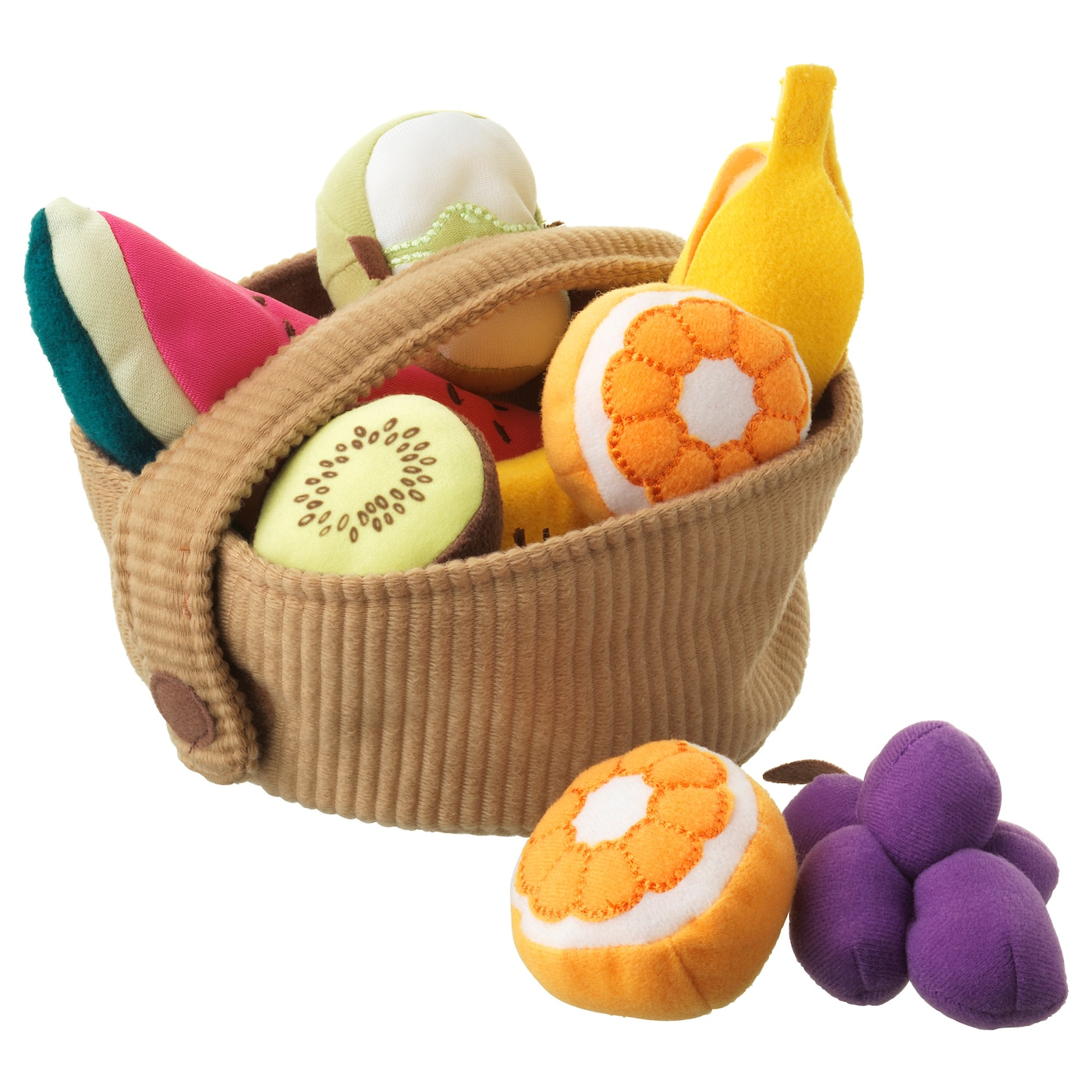 IKEA DUKTIG 9-piece fruit basket set
