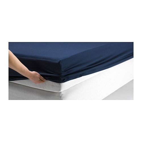 dvala fitted sheet 90x200 cm ikea. Black Bedroom Furniture Sets. Home Design Ideas