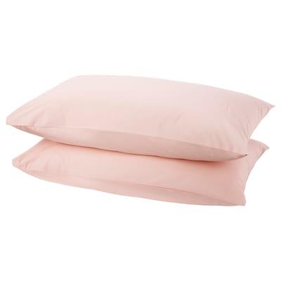 DVALA Pillowcase, light pink, 50x80 cm