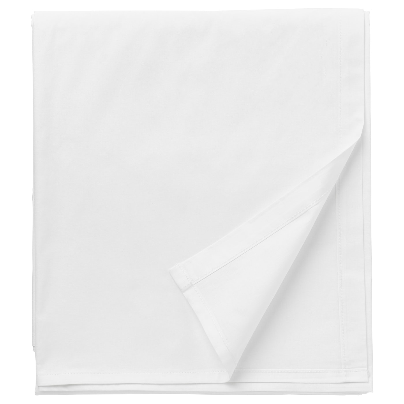 IKEA DVALA sheet Pure cotton that feels soft and nice against your skin.