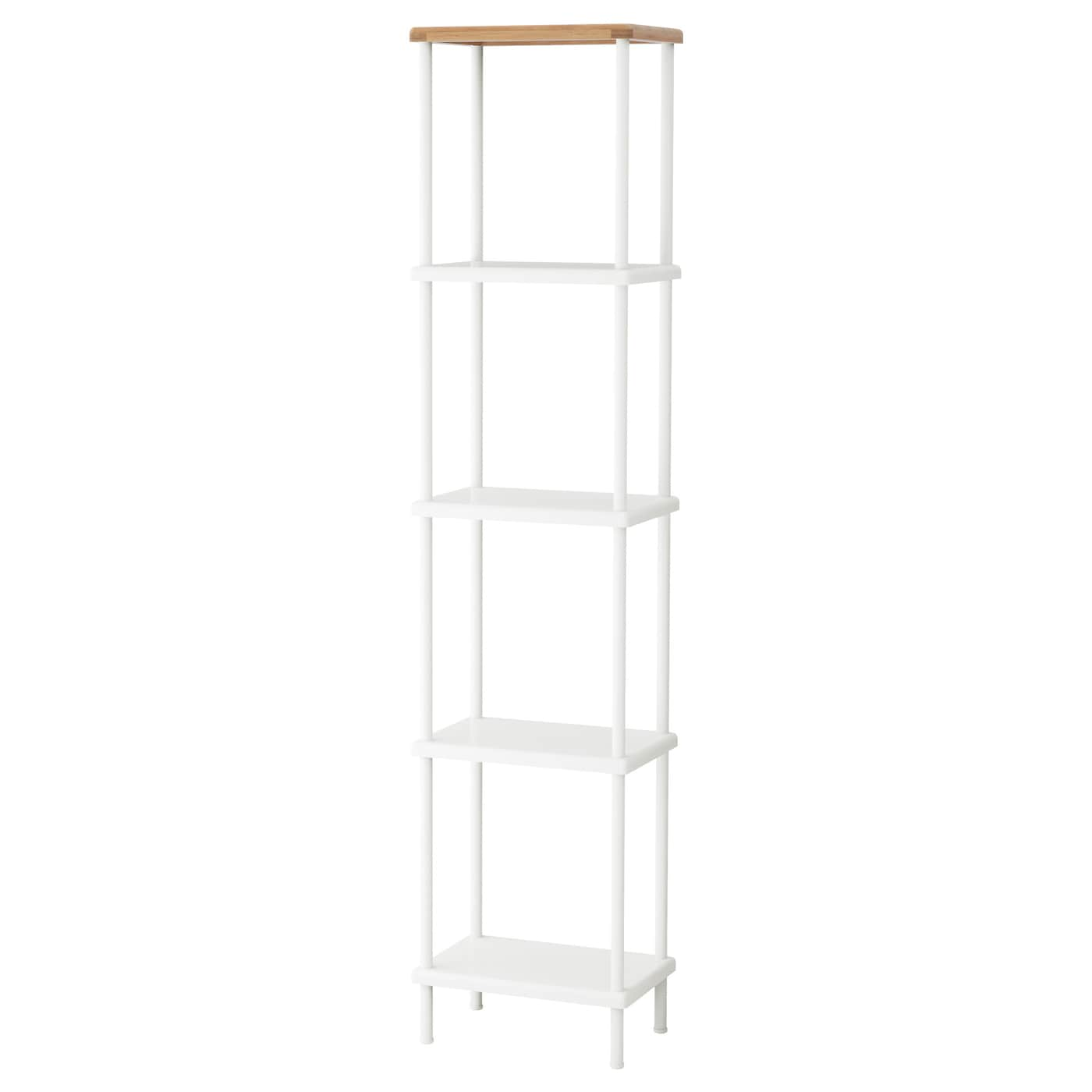 ikea dynan shelf unit perfect in a small bathroom - Bathroom Shelf Unit